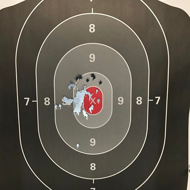 Putting my Gen 4 Glock 19 thru the paces.. I am trying the medium backstrap with longer beavertail on right now. I am going to switch it up the Large one and see how that does for me.  o