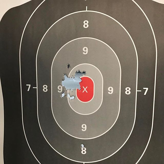 Some Lunchtime Target Therapy with my Glock19.. Good news I