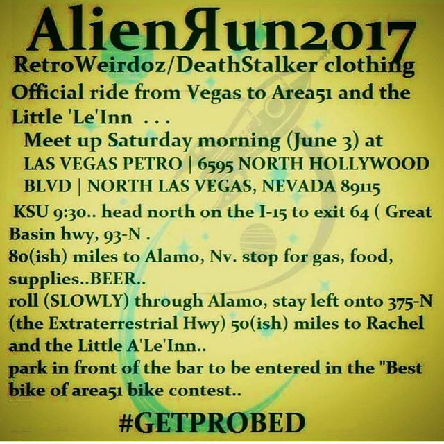 Come on out to get a little weird in desert