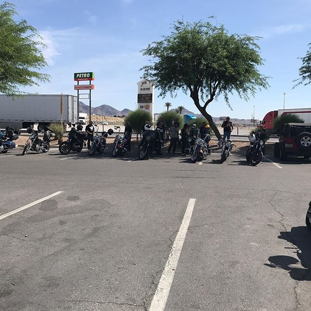 Getting ready to head to Rachel,NV for the AlienRun.