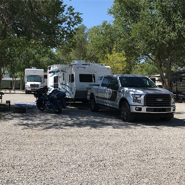 The House of H Adventure edition. We are all setup here at the KOA in Ely, NV. Headed into town shortly to go ride the train, grab dinner and then come back and relax in the great outdoors.