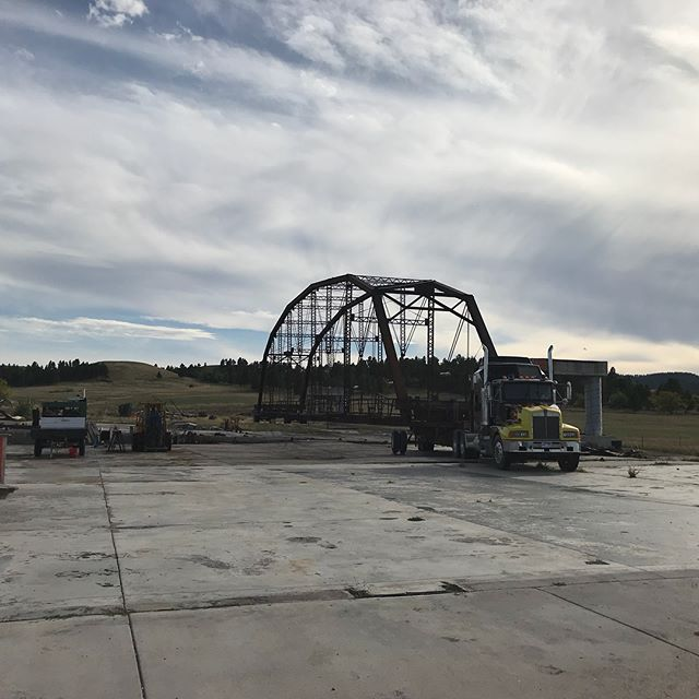 What's left of the old Full Throttle Saloon in Sturgis,