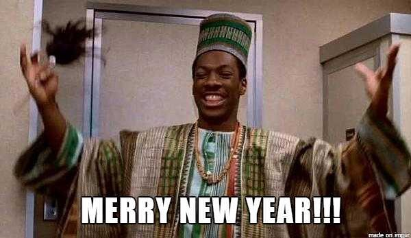 Happy New Year!!! Let's hope 2018 is better than 2017