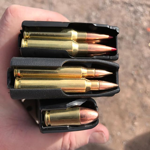Today's fun. 6.5 Grendel, .223 Rem and 9mm. Just letting
