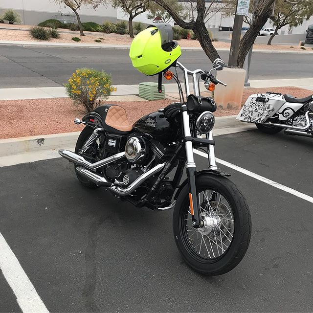 Out and about on Shoot & Scoot poker run today in Vegas!