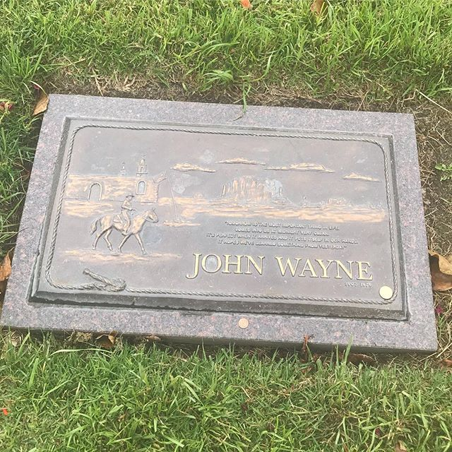 Of course when you find out that John Wayne is