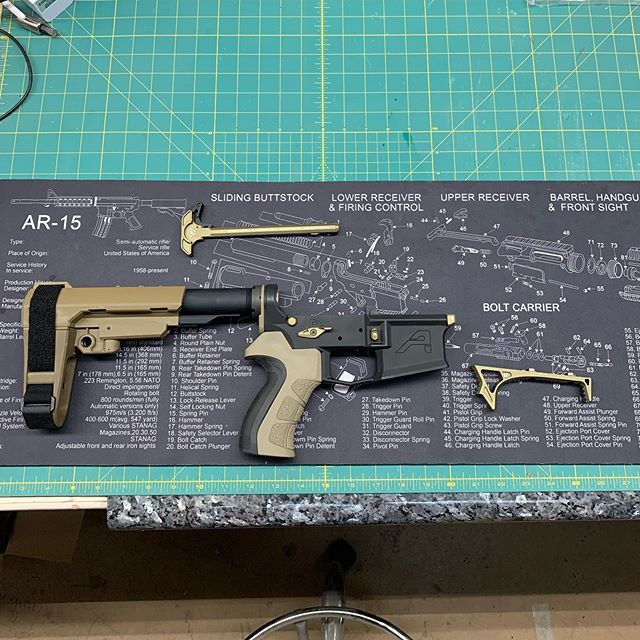 Another AR Pistol build is off to great start!