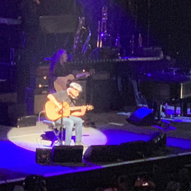 Bob Seger proved for an old guy he still had the Night moves to play that  old time rock and roll and run against the wind. He can now turn the page. It was a great show tonight in Vegas!