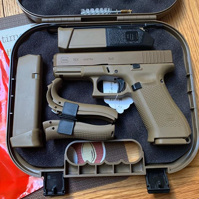 This followed me home from the Gun Store today. @glockinc