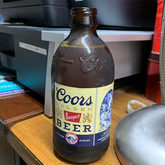 Having a coors for you today since there wasn't any