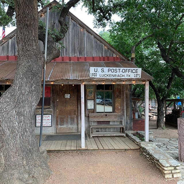 Went to Luckenbach, TX but didn't see Wille and the boys.