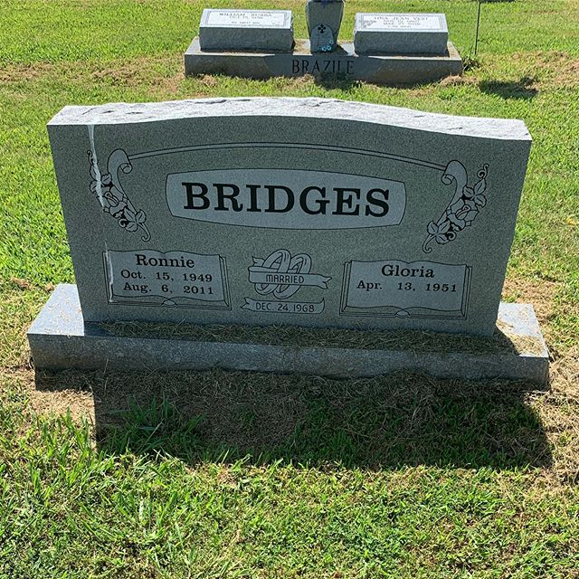 Stopped by the cemetery here in Palestine, AR to visit