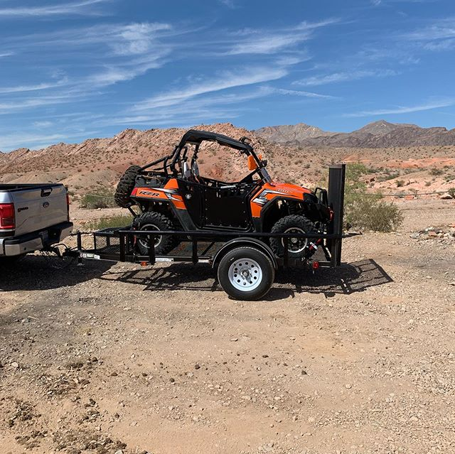 Took our RZR out today for our 1st Adventure and