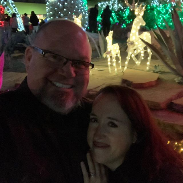 A few shots from our walk around the lights at